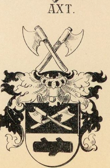 Axt Coat of Arms / Family Crest 0