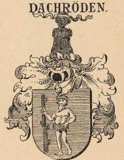Dachroeden Coat of Arms / Family Crest 0