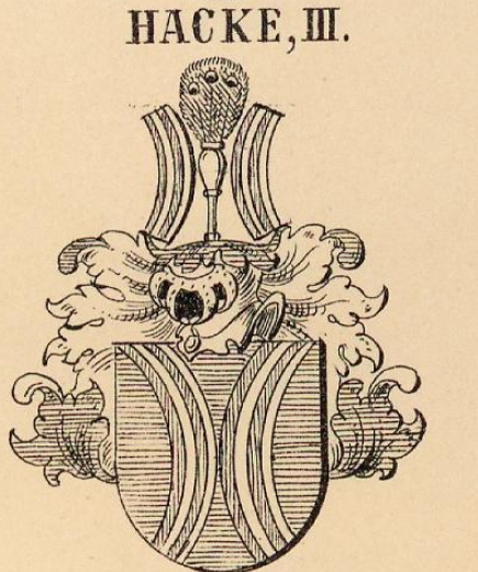 Hacke Coat of Arms / Family Crest 0