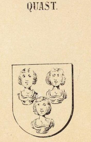 Quast Coat of Arms / Family Crest 0