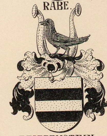 Rabe Coat of Arms / Family Crest 1