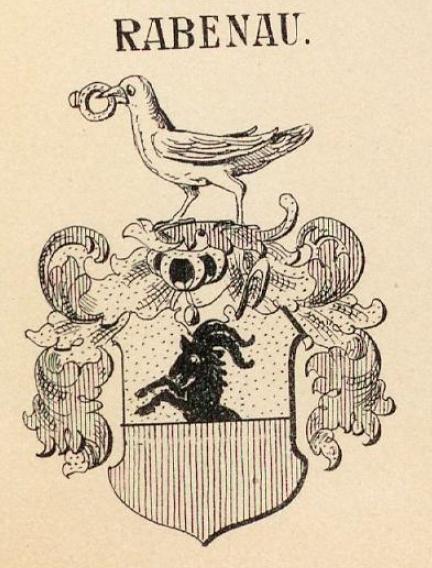 Rabenau Coat of Arms / Family Crest 0