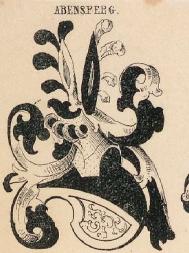 Abensperg Coat of Arms / Family Crest 0