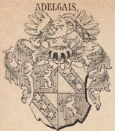 Adelgais Coat of Arms / Family Crest 0