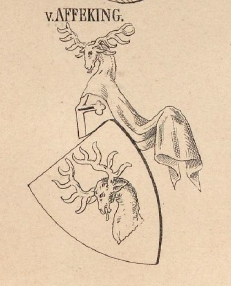 Affeking Coat of Arms / Family Crest 0