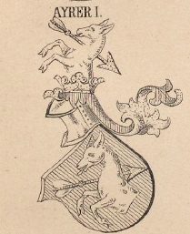 Ayrer Coat of Arms / Family Crest 0