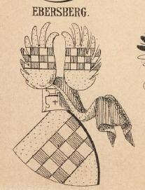 Ebersberg Coat of Arms / Family Crest 0