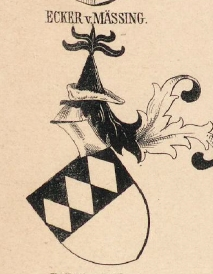 Ecker Coat of Arms / Family Crest 0