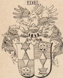 Edel Coat of Arms / Family Crest 0