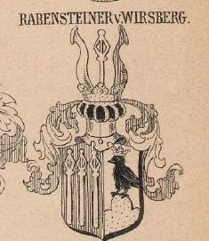 Rabensteiner Coat of Arms / Family Crest 1