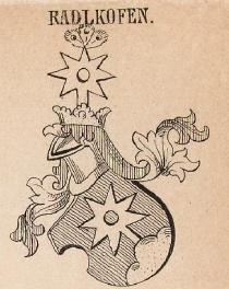 Radlkofen Coat of Arms / Family Crest 0