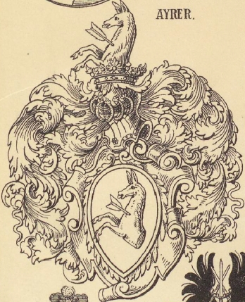 Ayrer Coat of Arms / Family Crest 1