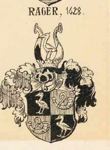 Rager Coat of Arms / Family Crest 2