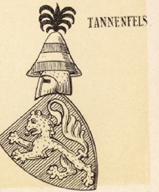 Tannenfels Coat of Arms / Family Crest 0