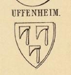 Uffenheim Coat of Arms / Family Crest 0