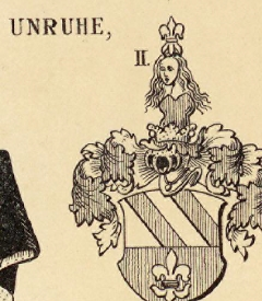 Unruhe Coat of Arms / Family Crest 1