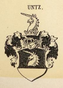 Untz Coat of Arms / Family Crest 0