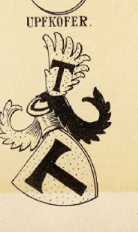 Upfkofer Coat of Arms / Family Crest 0