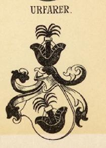 Urfarer Coat of Arms / Family Crest 1