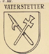 Vaterstetter Coat of Arms / Family Crest 0