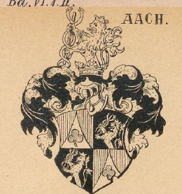 Aach Coat of Arms / Family Crest 1