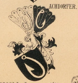 Achdorfer Coat of Arms / Family Crest 0