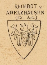 Adelzhausen Coat of Arms / Family Crest 0