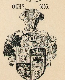 Ochs Coat of Arms / Family Crest 2