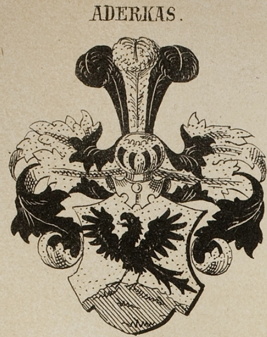 Aderkas Coat of Arms / Family Crest 0