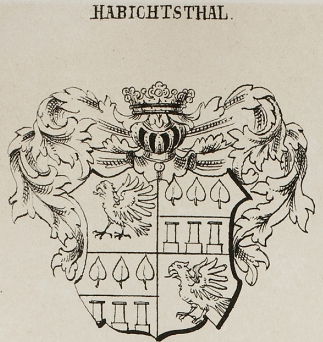 Habichtsthal Coat of Arms / Family Crest 0