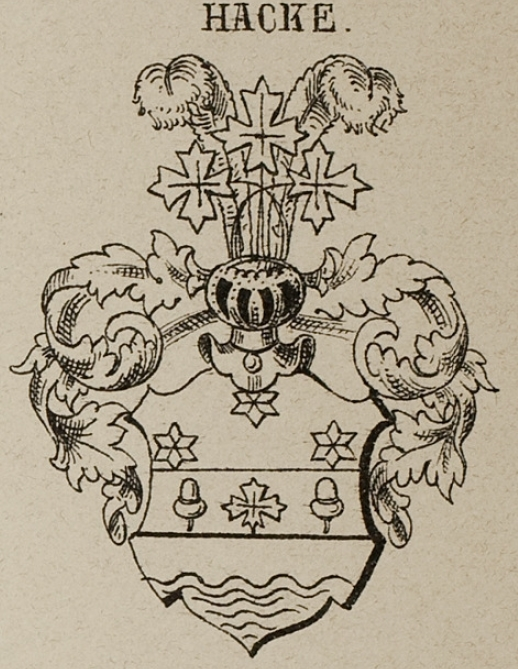 Hacke Coat of Arms / Family Crest 17