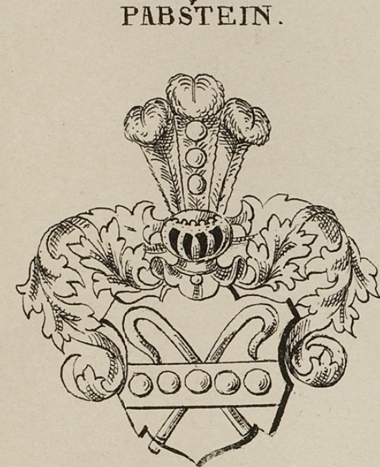 Pabstein Coat of Arms / Family Crest 0