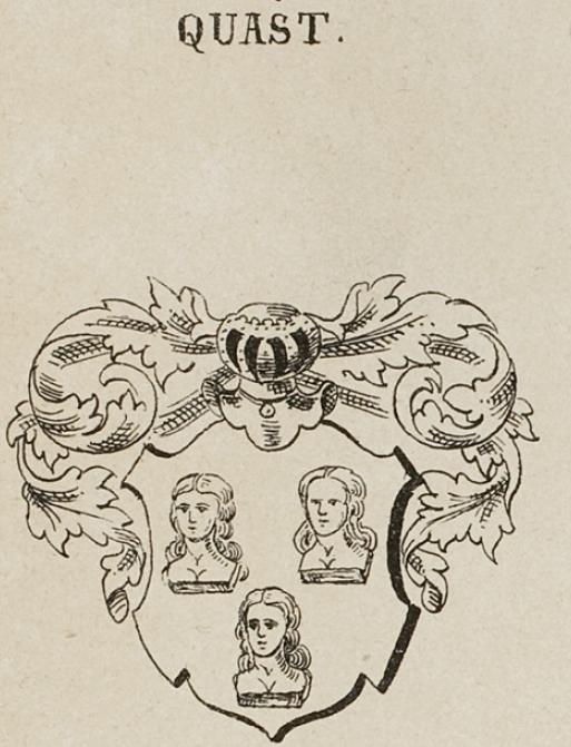 Quast Coat of Arms / Family Crest 8