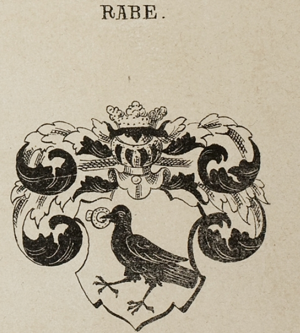 Rabe Coat of Arms / Family Crest 7
