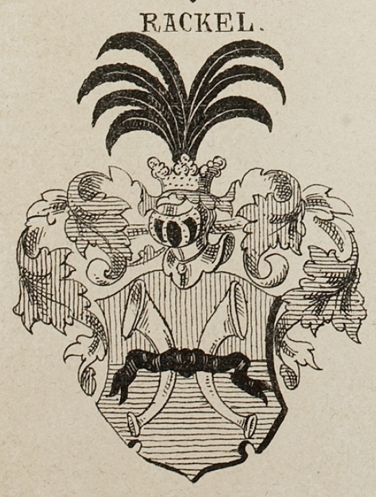 Rackel Coat of Arms / Family Crest 3