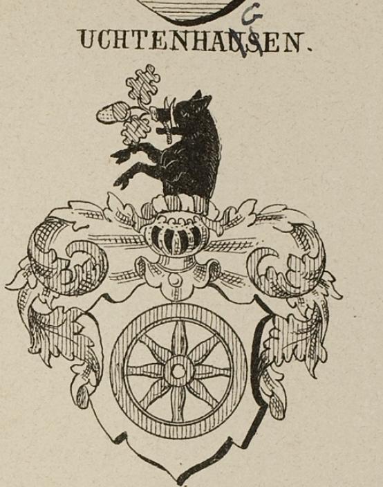 Uchtenhagen Coat of Arms / Family Crest 0