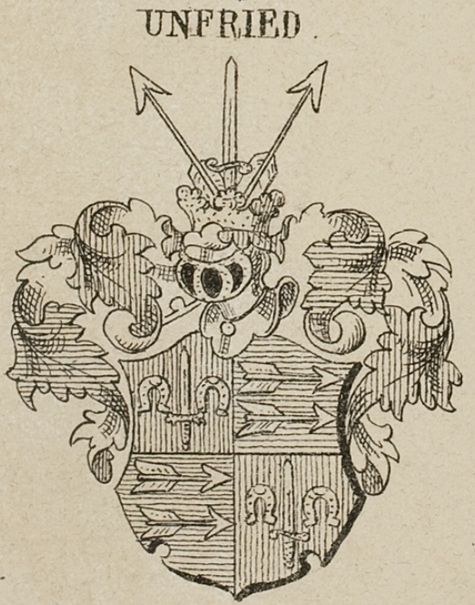 Unfried Coat of Arms / Family Crest 1