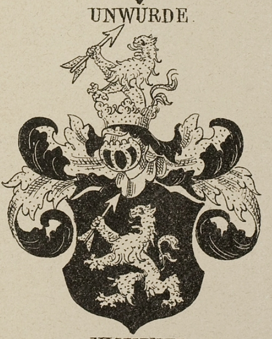 Unwurde Coat of Arms / Family Crest 1
