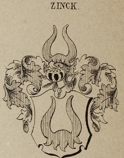 Zinck Coat of Arms / Family Crest 8