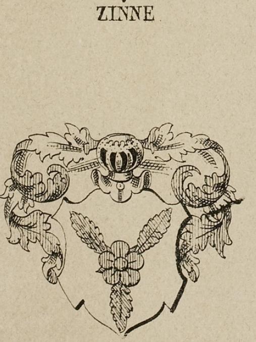 Zinck Coat of Arms / Family Crest 4