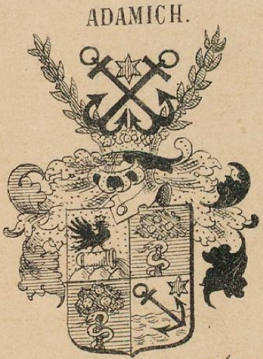 Adamich Coat of Arms / Family Crest 0