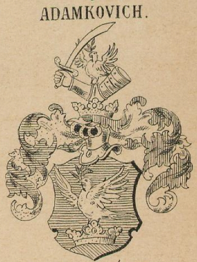Adamkovich Coat of Arms / Family Crest 0