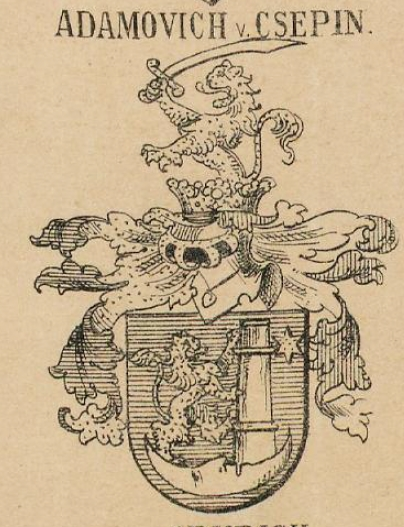 Adamovich Coat of Arms / Family Crest 0