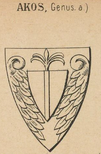 Akos Coat of Arms / Family Crest 0