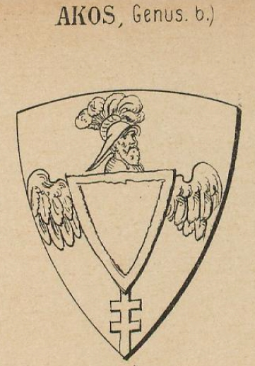 Akos Coat of Arms / Family Crest 1