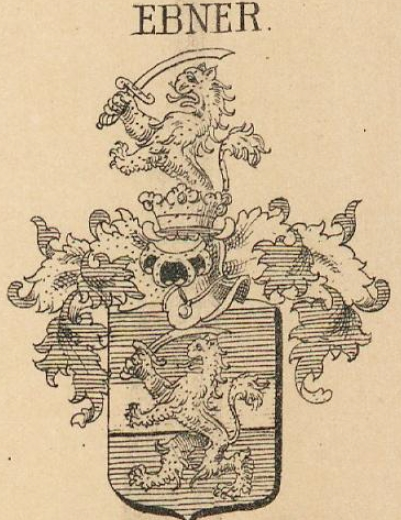 Ebner Coat of Arms / Family Crest 1