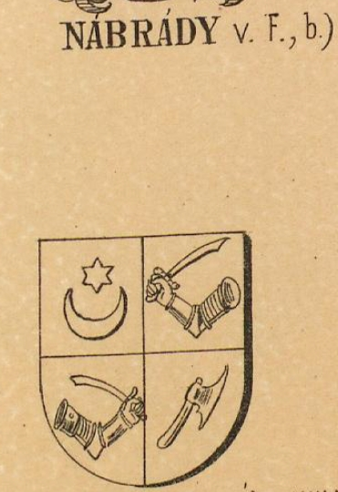 Nabrady Coat of Arms / Family Crest 1