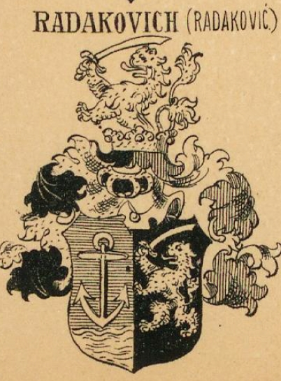 Radakovich Coat of Arms / Family Crest 0