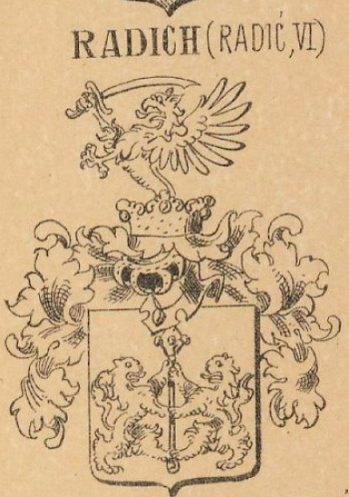 Radich Coat of Arms / Family Crest 2