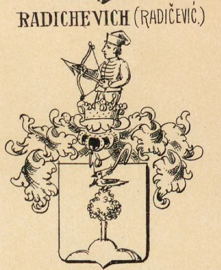 Radichevich Coat of Arms / Family Crest 1